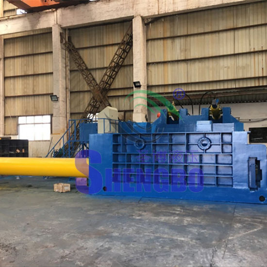 Automatic Waste Aluminum Baler Press with Push-out Bale