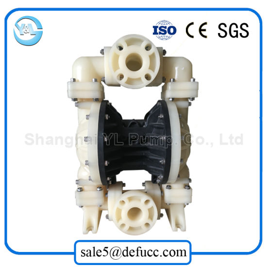 3 Inch PVDF Air Driven Double Membrane Pump for Food Grade pictures & photos
