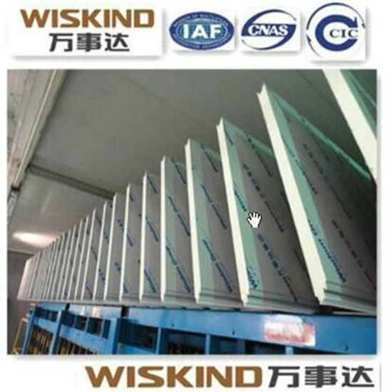 0.3-0.8mm Wall Roof PU Sandwich Panel with PPGI ISO pictures & photos