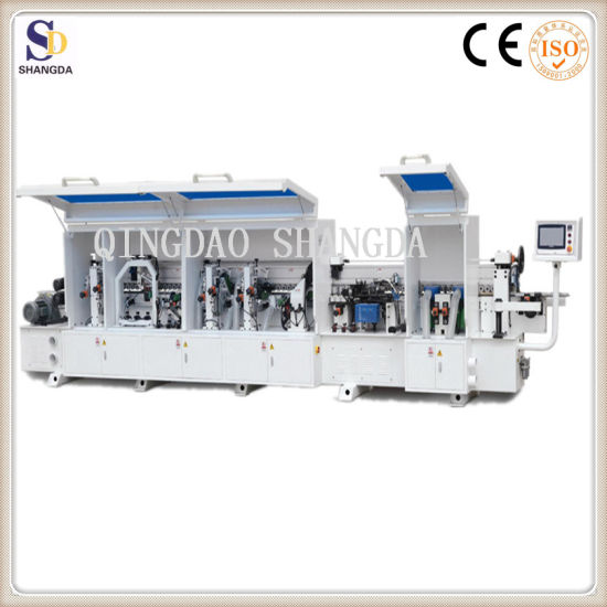Automatic Melamine Edge Bander Machine for Sale China Manufacturer Cabinet  Edge Bander Machine for Chipboard Double Slot Edge Banding Machine with