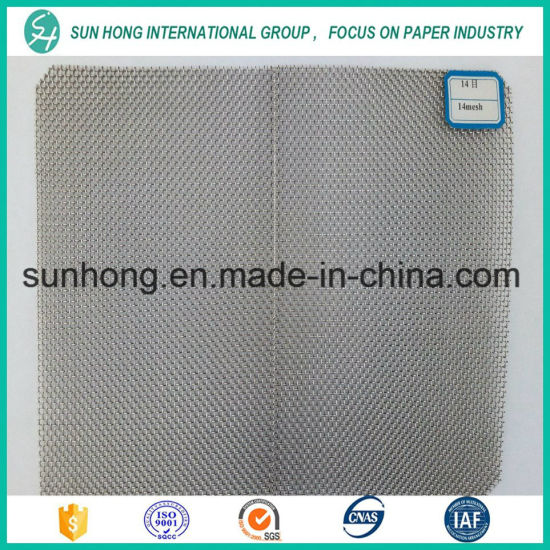 500 Micron Stainless Steel Wire Mesh for Cylinder Mould pictures & photos