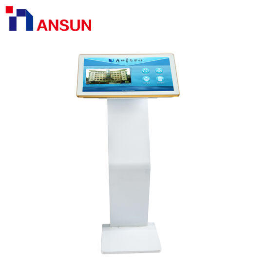 22 26 32 Inch Android / Windows Multi Touch Kiosk Display Monitor Stand LCD  Touch Panel