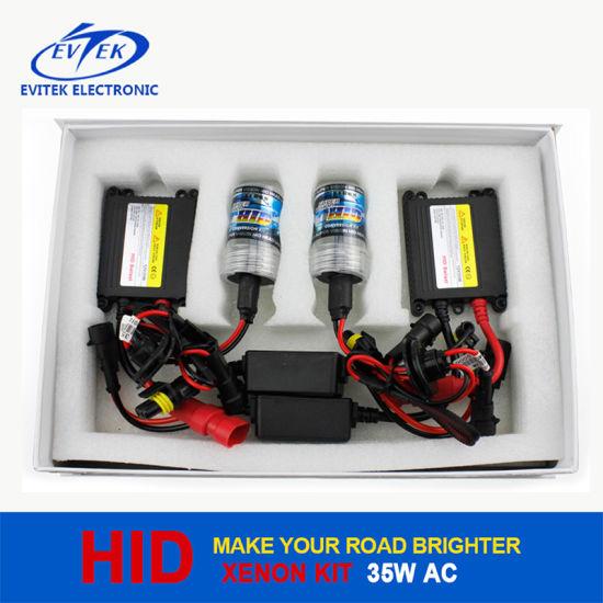Evitek Auto HID Headlights 35W AC Slim Xenon Kit H1 H3 H7