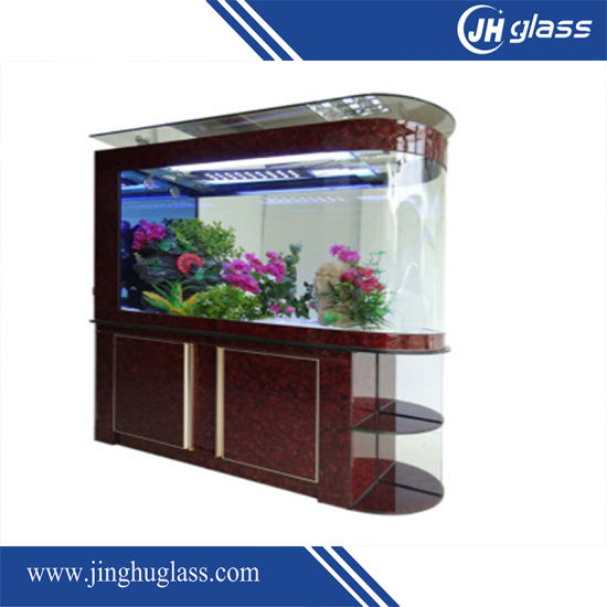 6mm Clear Bent Building Tempered Glass for Home Application