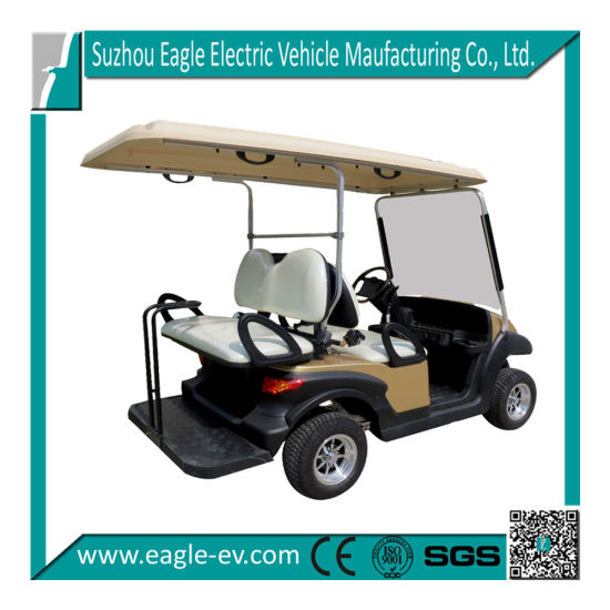 Electric Golf Car, CE Certificate for EU with Multifunctional Car Eg202aksf