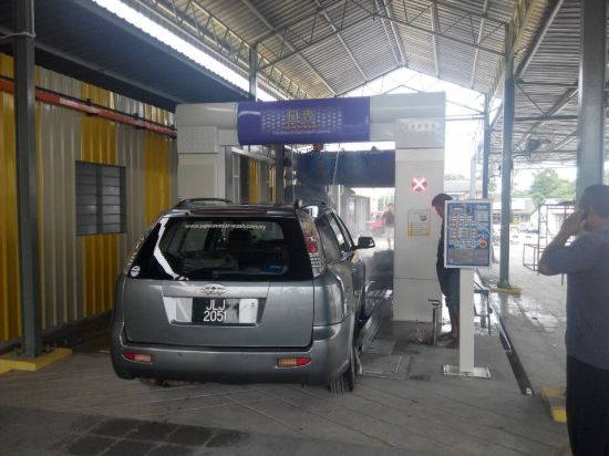 Automatic Drive Through Car Washing Equipment