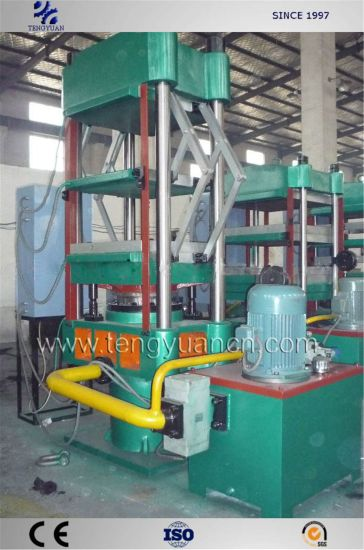 Rubber EVA Foam Vulcanizing Press with PLC Control System pictures & photos