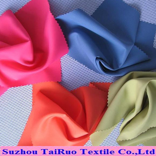 Polyester Pongee with PU or PA Coated for Garment Fabric