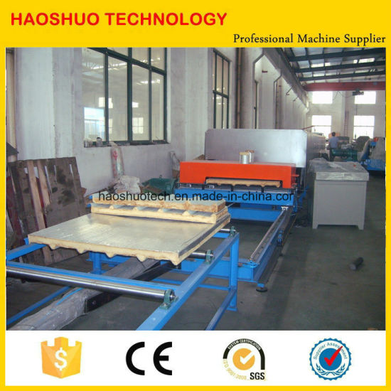 PU Sandwich Panel Production Line for Roof and Wall Panel Use pictures & photos