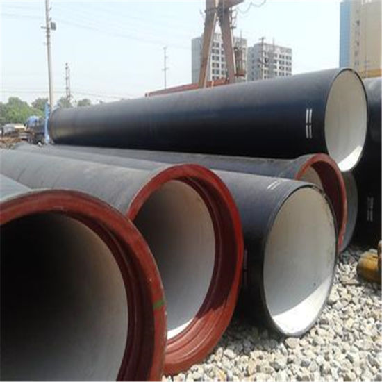 Envirionmental Epoxy Coated Cast Iron Pipe K9 Di Pipes for Underground Sewage & China Envirionmental Epoxy Coated Cast Iron Pipe K9 Di Pipes for ...