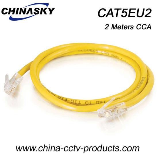 China 2 Meters Cat5e Internet Cables with RJ45 Connectors (CAT5EU2 ...