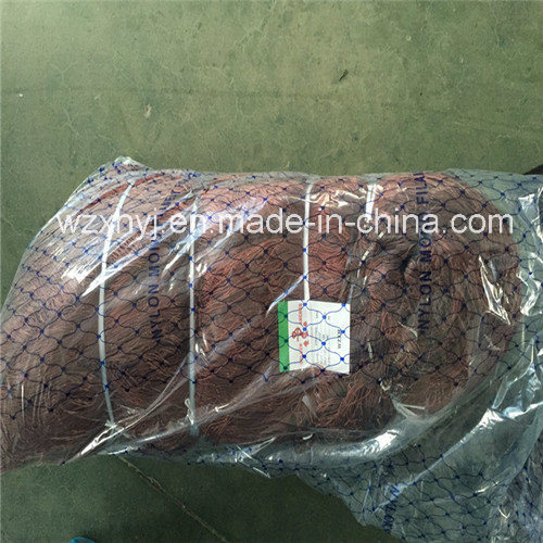 210d/12ply Brown Strong Gill Net for Italia on Sale pictures & photos