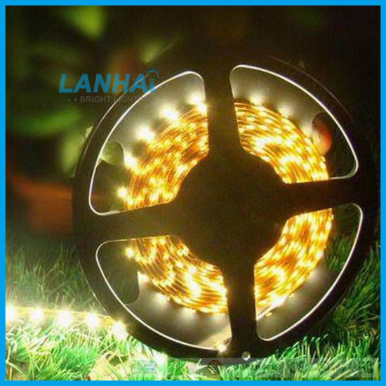24V SMD 5050 60LED/M Yellow Bar Light LED Strip pictures & photos