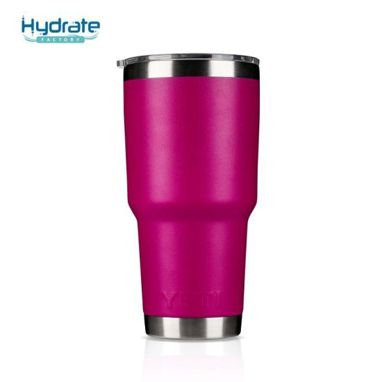 Wholesale Stainless Steel 18/8 Vacuum Cup Coffee Mug Yeti Tumbler Water Bottle