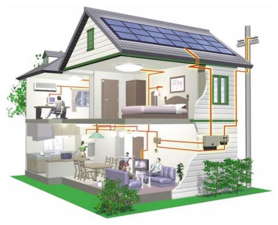 10kw Home Use on Grid Solar PV Panel Energy Power System pictures & photos