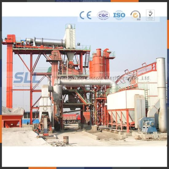 60t/H Portable Asphalt Batch Mixing Plant for Municipal Roads pictures & photos