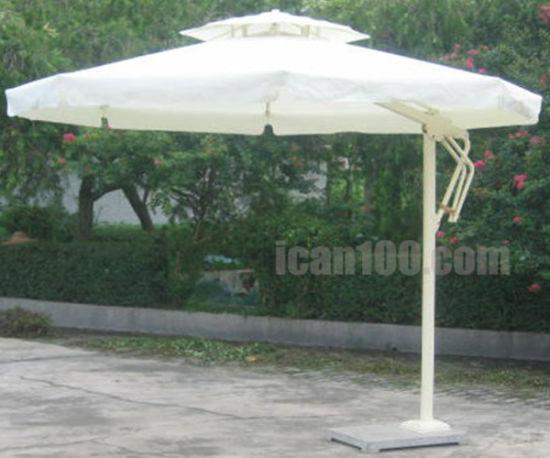 Anti Fading High Quality Garden Patio Aluminum Frame Large Beach Sun Umbrella Parasol