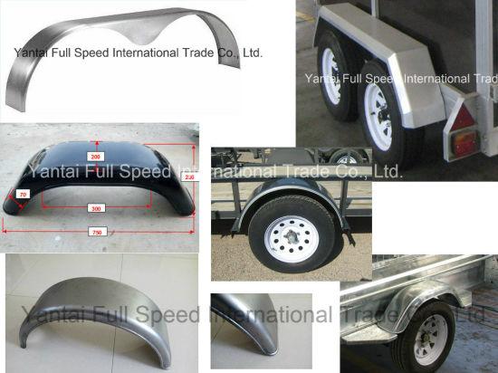 Trailer Steel Fenders Trailer Mudguards
