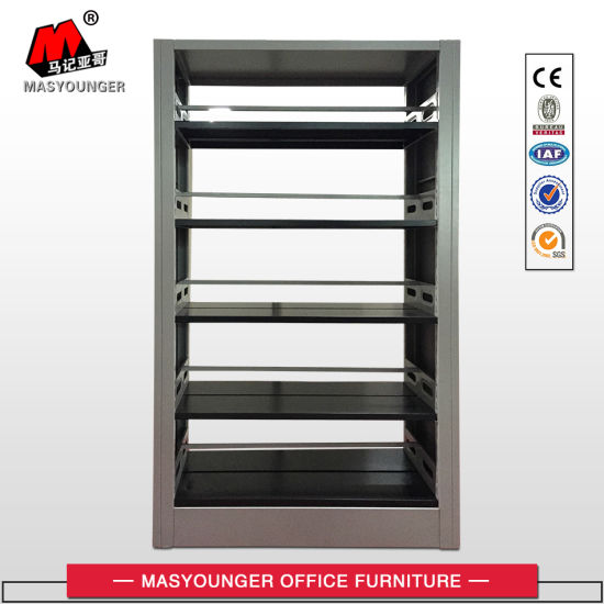 Factory Manufacturer Library Furniture Metal Book Shelf pictures & photos