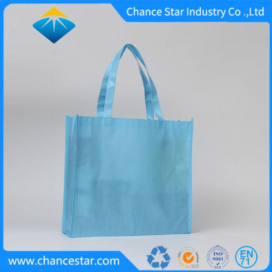 Wholesale Blank China Laminated PP Nonwoven Shopping Bag