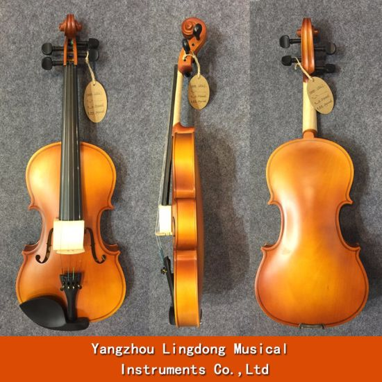 China Wholesale Student Beginner Violins With Free Case For Sale