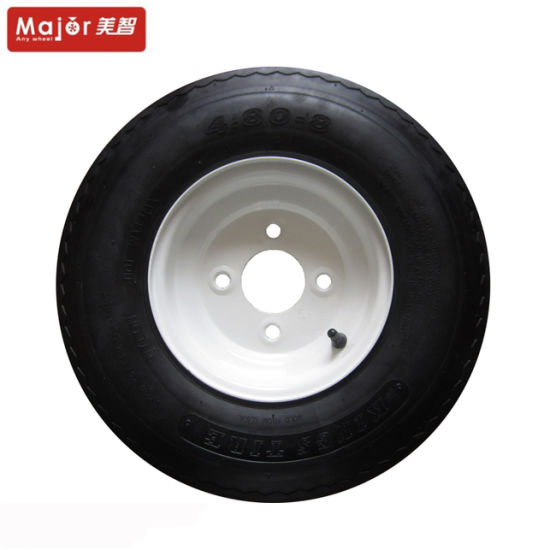 4.80-8 Tubeless Rubber Wheel Is Used for The Wheel of The Large Tool Vehicle, The Wheel of The Agricultural Vehicle pictures & photos