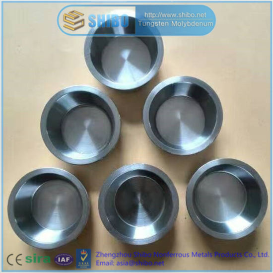 Factory Supply High Purity 99.95% Mo Crucible with Best Quality pictures & photos