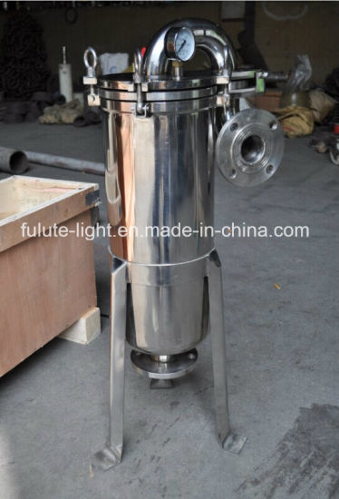 Food Grade Stainless Steel Sanitary Bag Filter Housing