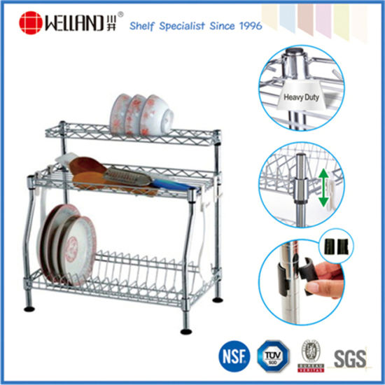 Factory Patent Steel Dish Drainer Rack- Different Design Are Available pictures & photos