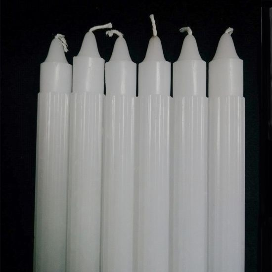 2cm*22cm White Fluted Candles to Johannesburg pictures & photos