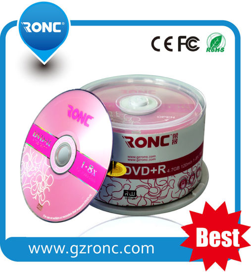 Wholesale Blank DVD 16X DVD-R 4.7GB Media