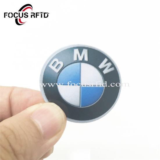 Wholesale Custom RFID NFC Badge Tag Hitag 1 RFID Chip Sticker for Prepaid