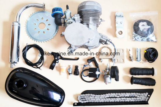 Racing Bike Engine/ Woodpecker 2 Stroke 80cc Kit with Low Profile Reed Valve for Racing pictures & photos