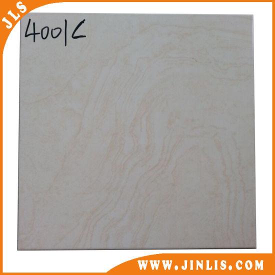 China Building Material 4040 Cheap Stone Look Ceramic Bathroom Floor