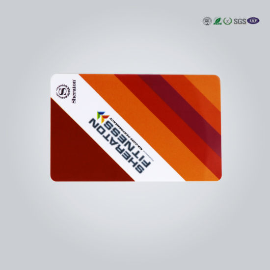 Customized Business Invitation Gift ID Printer Plastic Magnetic Card pictures & photos