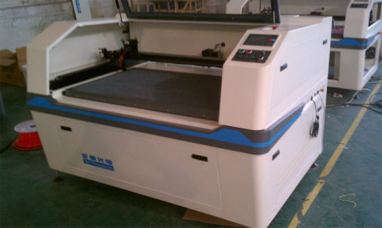 CO2 Laser Cutting Engraving Machine for Bath Towel Face Towel pictures & photos