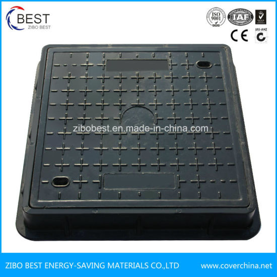 OEM D400 En124 Square SMC Resin Waterproof Gully Covers Price pictures & photos