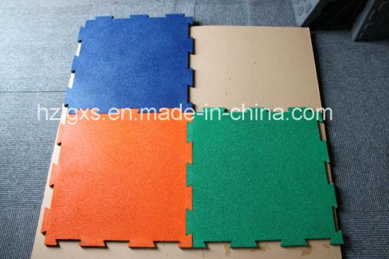 China Interlocking Epdm Rubber Tiles Flooring China Rubber Floor