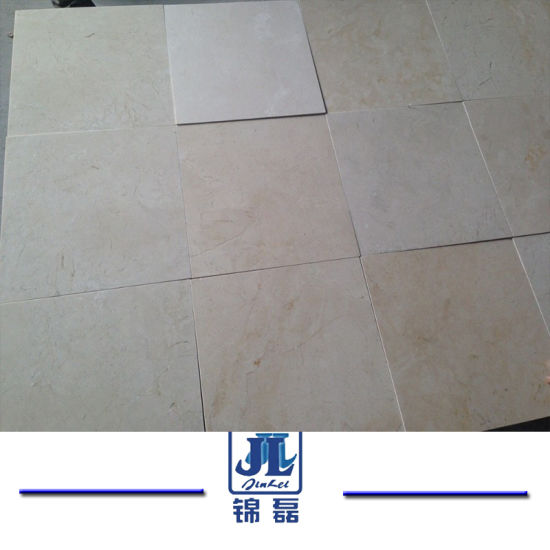 Cheap Spain Beige Marble New Crema Marfil for Slabs and Floor Tiles pictures & photos