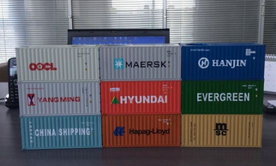 Office Supply Shipping Line Logistic Creative Promotional Gift Container Shape Paper Block pictures & photos