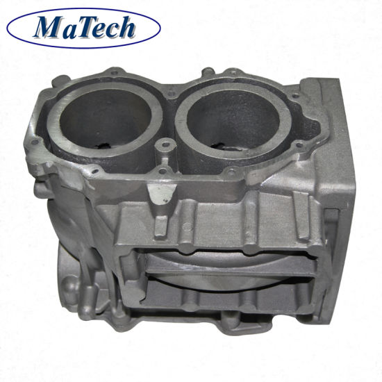 Aluminum Machining Casting Car Spare Parts Engine Cover pictures & photos