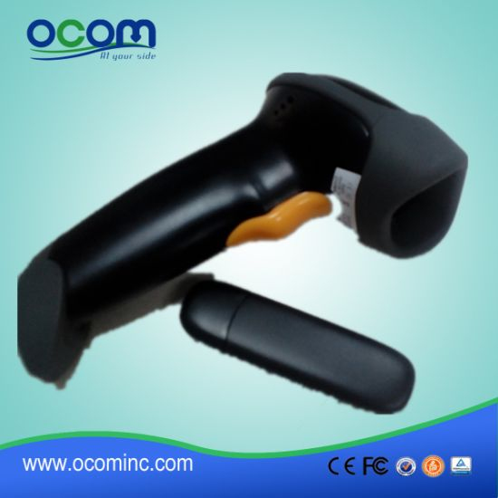 China Factory RF433MHz Wireless Laser Barcode Scanner pictures & photos