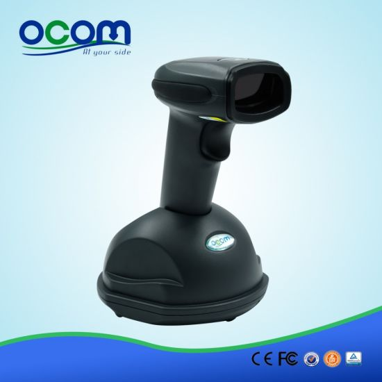 RF433MHz Wireless Laser Barcode Scanner with Memory pictures & photos