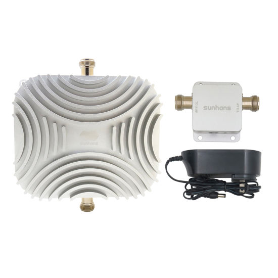 New Outdoor 5.8GHz Wireless Extender Repeater Sunhans 10W 40dBm Network Signal Amplifier WiFi Booster for Access Point