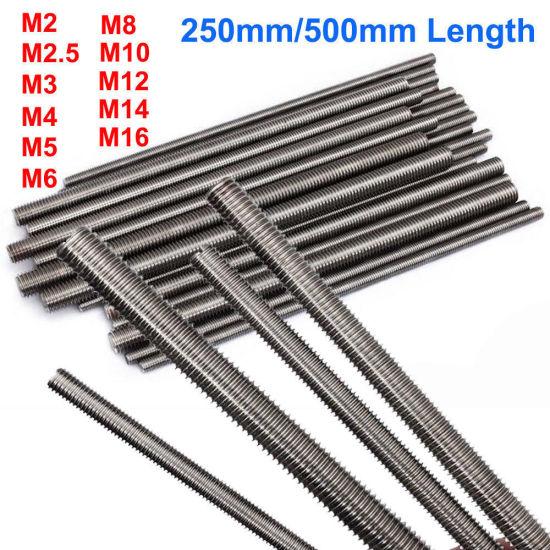 M20-2.5 Thread Size Right Hand Threads 1 m Length Class 8.8 Steel Fully Threaded Rod