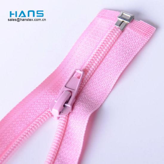 3# 5# Custom Brand Cheap Clothing Nylon Waterproof Open End Zipper