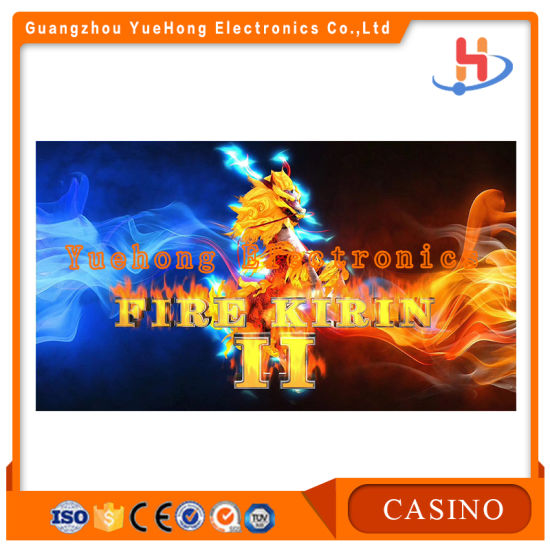 Fire Kirin Arcade Fishing Hunter Games Table Machine Fish Casino Game Board