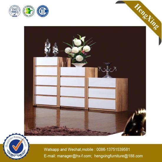 Small Size MDF Wooden Bedroom Furniture Double Hotel Home Storage Cabinet Hx-Wl013