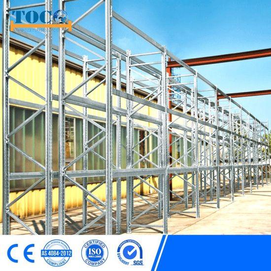Selective Metal Warehouse Storage Galvanized Heavy Duty Pallet Rack