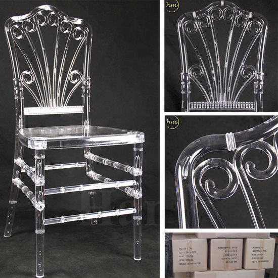 Beautiful Luxury Knockdown Design Clear Party Resin Chiavari Chair (HM-R021) pictures & photos